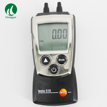 Cheaper 0 to 100 hPa Digital Auto-Ranging Pressure Differiental Manometer Meter Testo 510 Temperature compensation