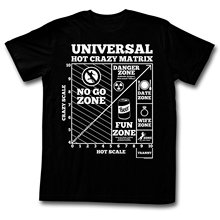 """Universal Hot Crazy Matrix"" t-shirt"