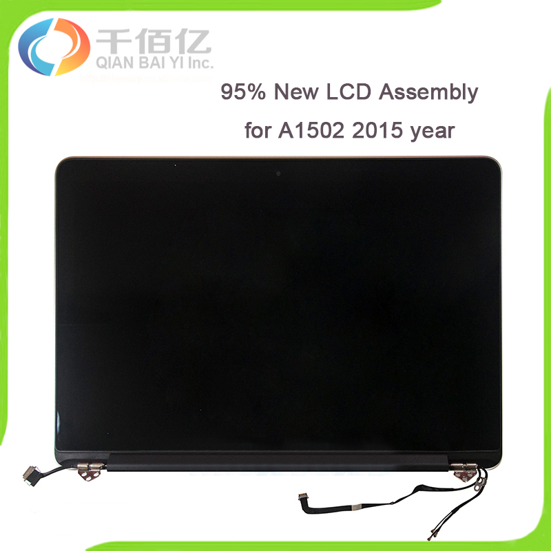 Original 95% New 2015 A1502 LCD Screen Full Display Assembly for Macbook Pro Retina 13'' A1502 LCD Screen Complete Assembly original new a1708 lcd assembly for macbook pro retina 13 a1708 full lcd panel display assembly 2016 2017 year emc2978 emc3164
