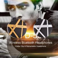 Fineblue FD-55 Moda Mini Kablosuz Bluetooth Kulak Kulaklık Titreşim Anti kayıp klip Kulaklık Eller-Serbest IOS Android için