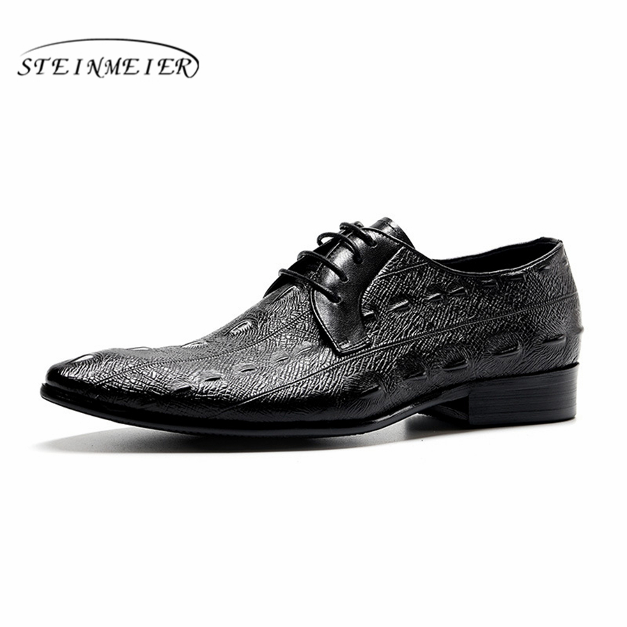 Genuine cow leather brogue business Wedding shoes mens casual flats shoes vintage handmade sneaker oxford shoes for men spring 2016 classic vintage mens heighten shoes genuine leather handmade comfortable outdoor shoes men flats for leisure business e1 page 6