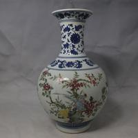 3 Antique QingDynasty porcelain vase,Blue & white Pastry ornaments bottle 4,hand painted crafts,Decoration,Collection&Adornment