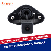 Seicane Водонепроницаемая камера ночного видения HD Проводная Скрытая автомобильная парковочная резервная камера заднего вида для Subaru Outback 2012 2013