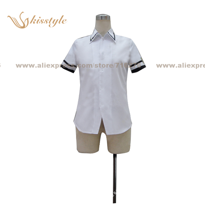 Kisstyle Fashion Guilty Crown Tennouzu High School Shirt Uniform COS Clothing Cosplay Costume,Customized Accepted image