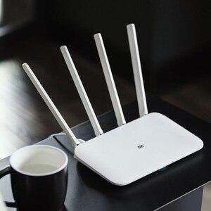 Image 5 - Xiao mi mi WIFI Router 4 WiFi Repeater 1167 Mbps Dual Band Dual Core 2.4G 5 Ghz 802.11ac Bốn anten ỨNG DỤNG Điều Khiển Bộ Định Tuyến Không Dây