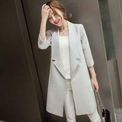 Popular Women Long Blazers-Buy Cheap Women Long Blazers lots from ...