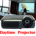 1080P 3D Full HD Projector UHP DLP Home Theater Overhead Mini Portable 1080P Beamer Daytime Support 1920x1080 18000:1 180W Bulb