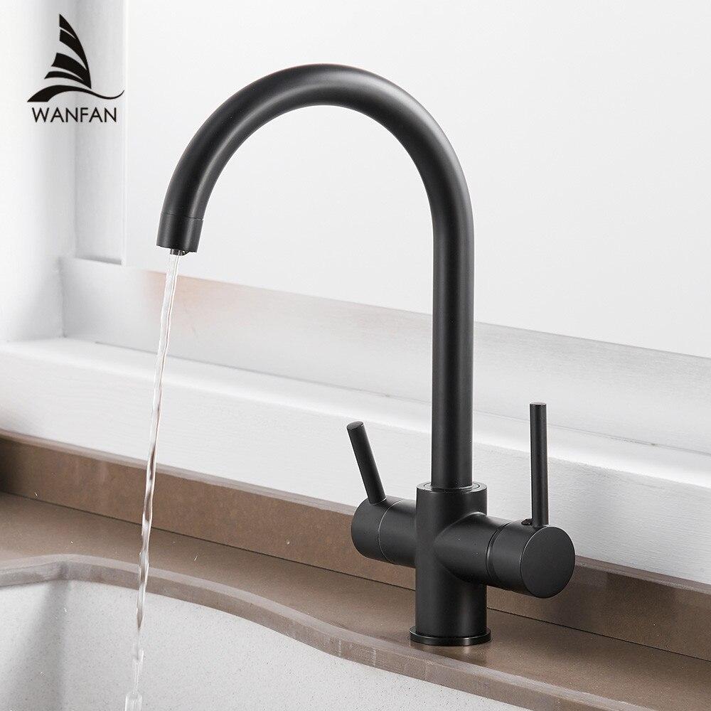 Robinets de cuisine robinets filtre à eau robinets de cuisine mélangeur d'eau potable filtre robinet évier de cuisine robinet d'eau du robinet WF-0180