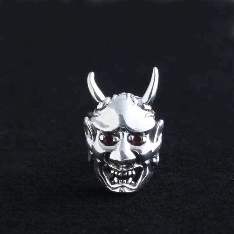 Handmade 925 pure silver man earring thailand silver stud earring men's earring skull head cool подвесной светильник nowodvorski eye super 6631