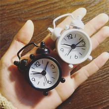 mini classic vintage alarm clock electronic desk table watch mechanical alarm clock travel vibrating loud clocks for kids