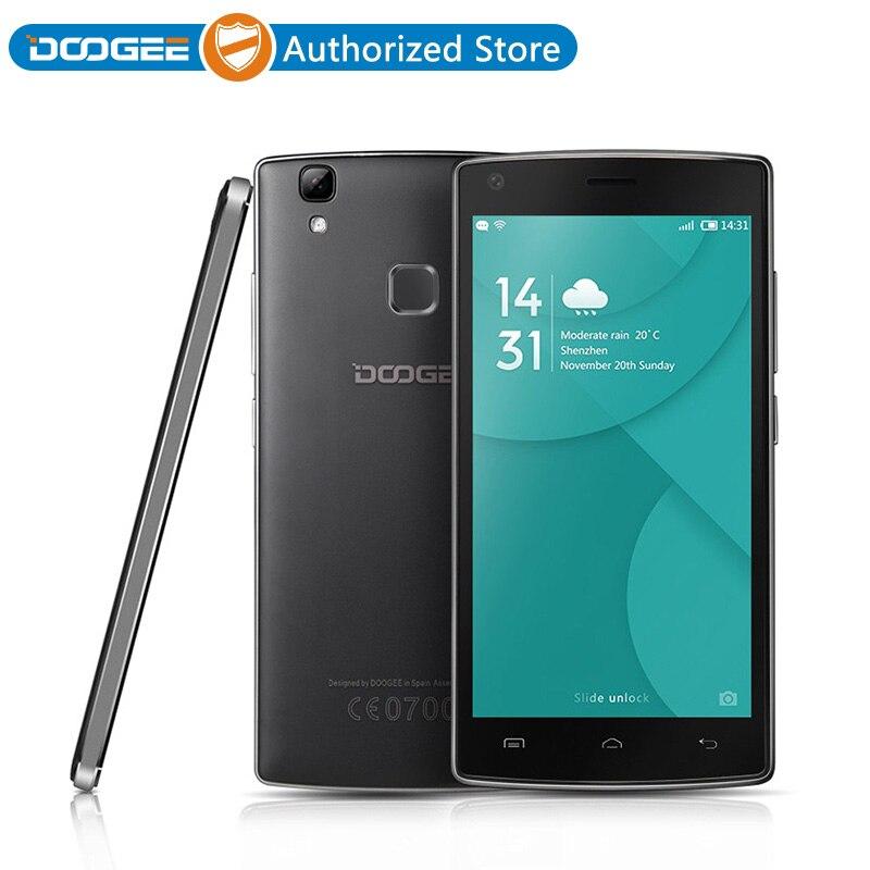 Цена за Doogee x5 max pro смартфон 2 ГБ 16 ГБ 4000 мАч мобильный телефон 5.0 7 дюймовый Android 6.0 Quad Core 8.0MP MTK6737 Отпечатков Пальцев 4 Г LTE Телефон