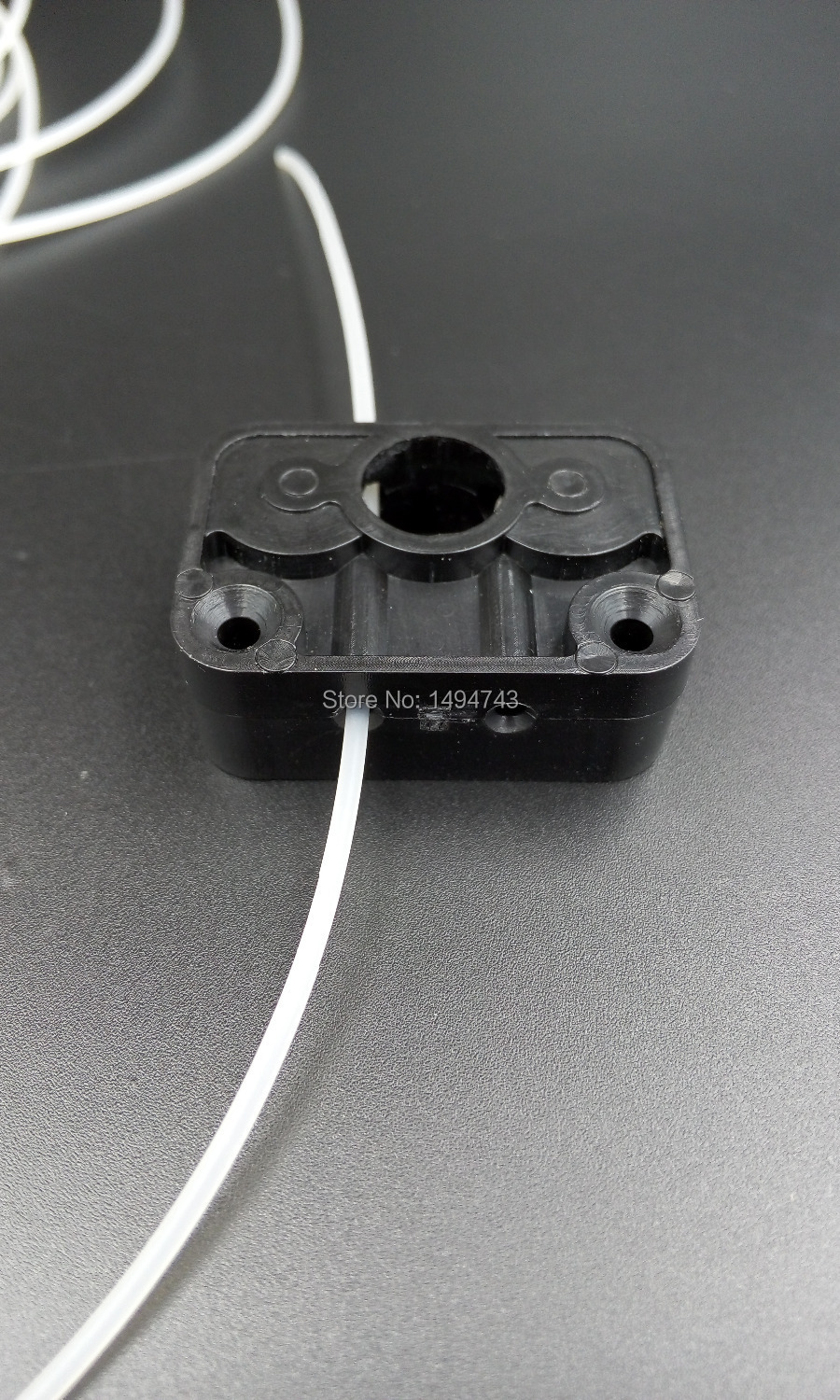 3D printer accessories 3D printer fitted plastic extruder wire box + 2 pcs V623ZZ V-groove bearing