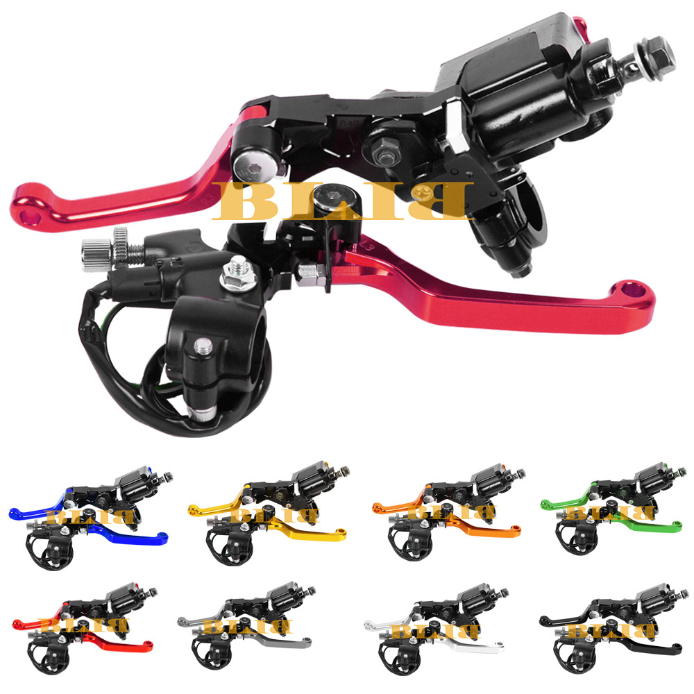 CNC 7/8 For Honda XR400 MOTARD 2005-2008 Motocross Off Road Brake Master Cylinder Clutch Levers Dirt Pit Bike 2006 2007 2008
