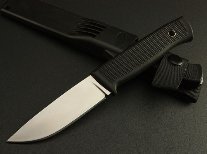 Brand Quality Fixed Blade 8Cr13Mov Camping font b Knife b font With ABS K Sheath Survival