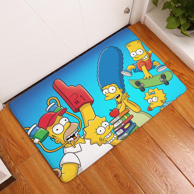The Simpsons Family Print Carpets