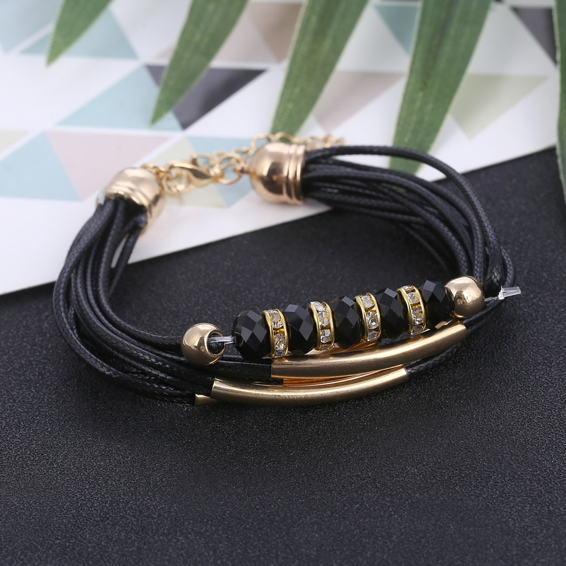 Leather Bracelet for Women HTB18P10a ZKL1JjSZFIq6x DFXae