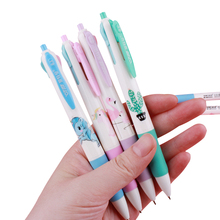 1pcs/lot Cactus Flamingo Unicorn 4 Color Ballpoint Pen 0.5mm For Daily Life Using Or Gifts