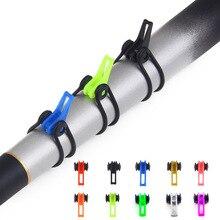 10pcs/Lot Plastic Fishing Hook Keeper For Fishing Rod Pole F