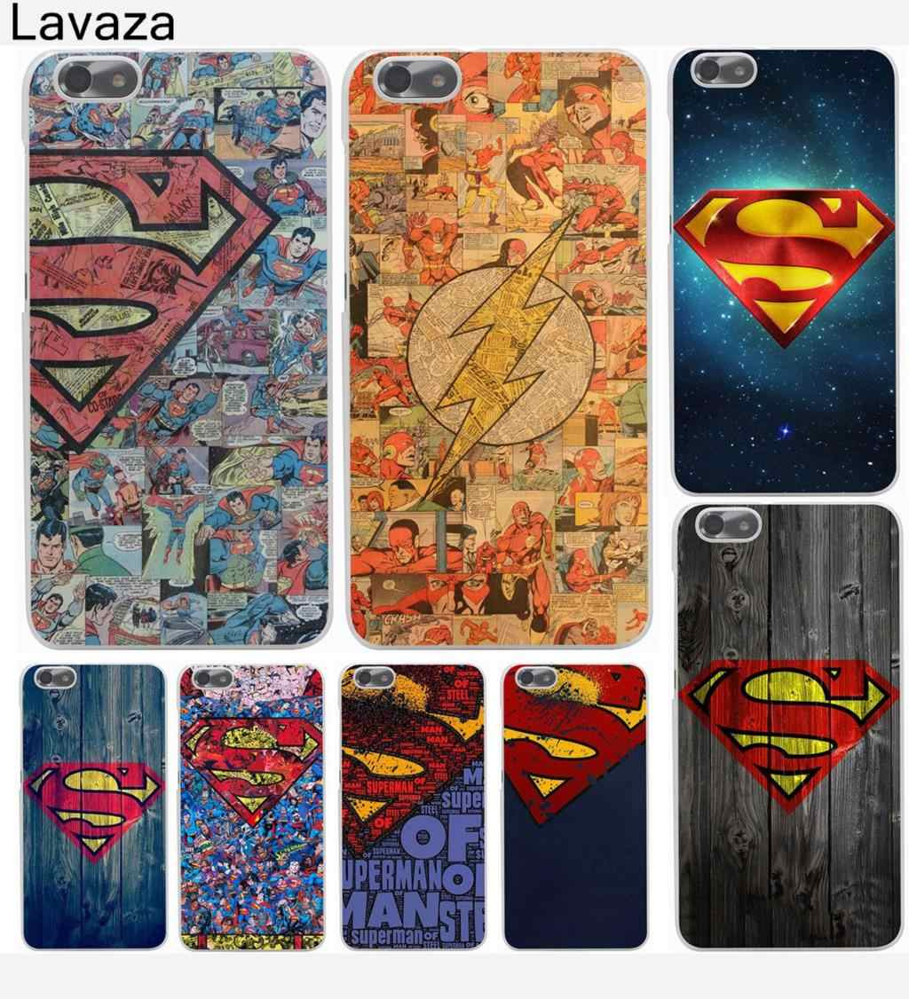 Lavaza Ultra Slim Superman Hard Phone Cover for Huawei P8 P9 P10 P20 P30 Lite Plus P20 P30 Pro P smart 2019 Case
