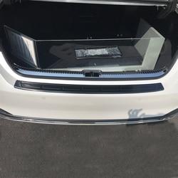 JY SUS304 Stainless Steel Inner Rear Cargo Sill Trim Car Accessories Styling for Lexus ES200 ES300h ES260 F-Sport 2019