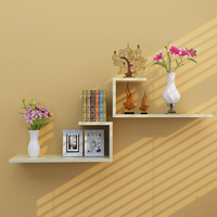 Wall shelf wall hanging creative wall partition living room TV background wall decoration shelf bedroom closet lattice
