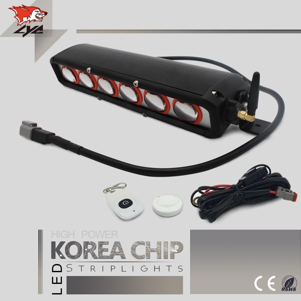 Led Shop Light Bar For Sale: Single Pcs LYC Led Light Bar Made In China For Jeep