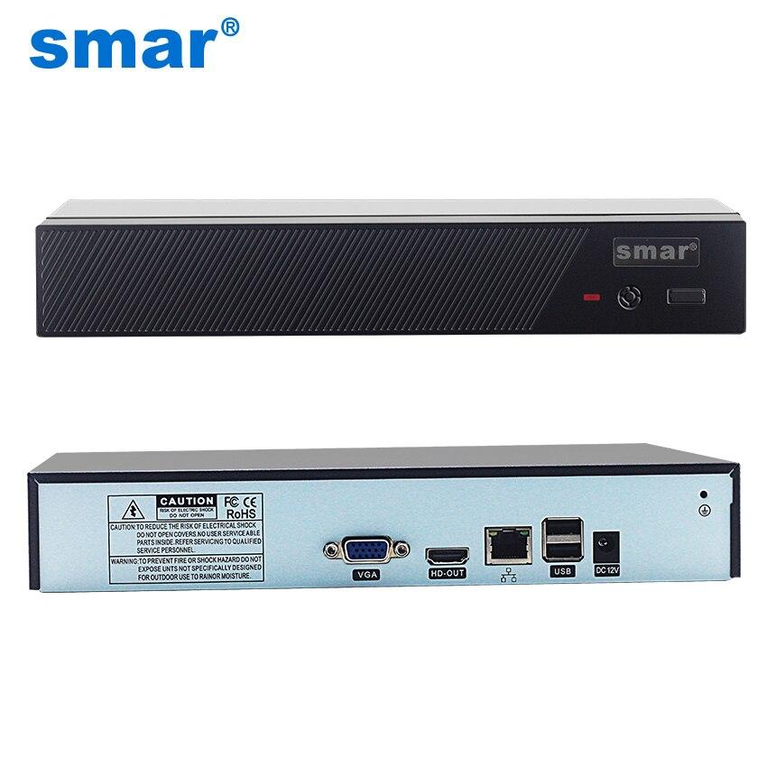 Smar Neueste H.265 Max 4 karat Ausgang CCTV NVR 16CH 5MP/8CH 4MP/4CH 5MP Sicherheit Video Recorder ONVIF XMEYE P2P E-mail Alarm