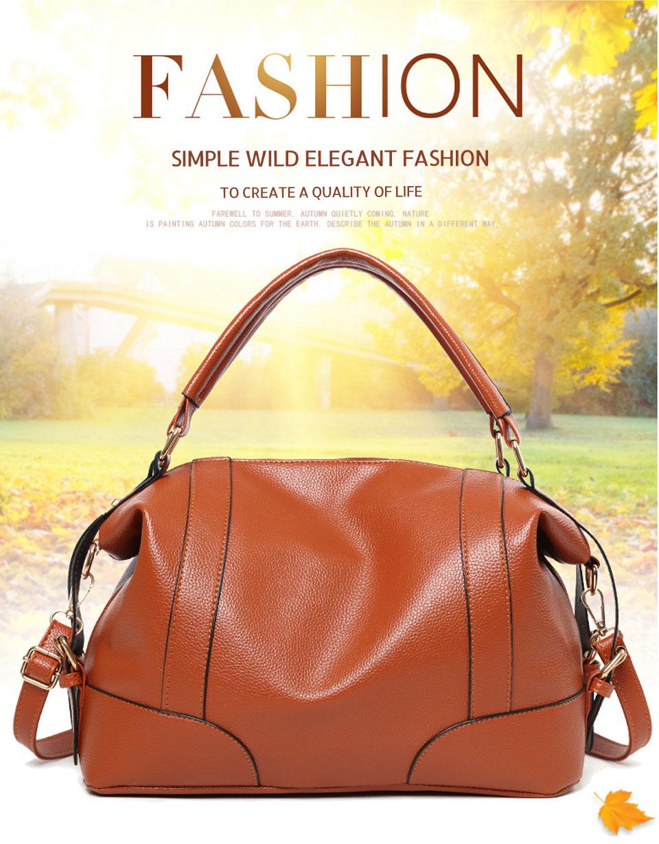 9a2b900307ab ACELURE Classic Soft Leather Handbags Big Women Tote Zipper Ladies Shoulder  Bag Girl Quality Hobos Bags New Arrival Shopping Bag #94136