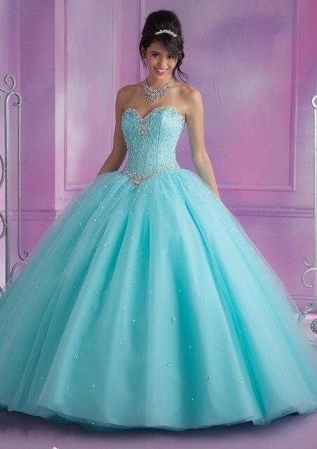 nueva bola de la manera vestidos de novia cristales detalles rosa