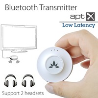 Avantree Bluetooth Transmitter For TV Dual Link For Two Headphones Receivers 3 5mm Wireless Audio Adapter