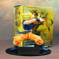 Anime Dragon Ball Z Goku Super Saiyan PVC Action Figure Collectible Modelo Toy 17 CM