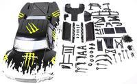 Автомобиль в виде ракушки upgrate рамки часть Новый средства ухода за кожей для 1/5 HPI Rovan km baja 5sc rc части автомобиля