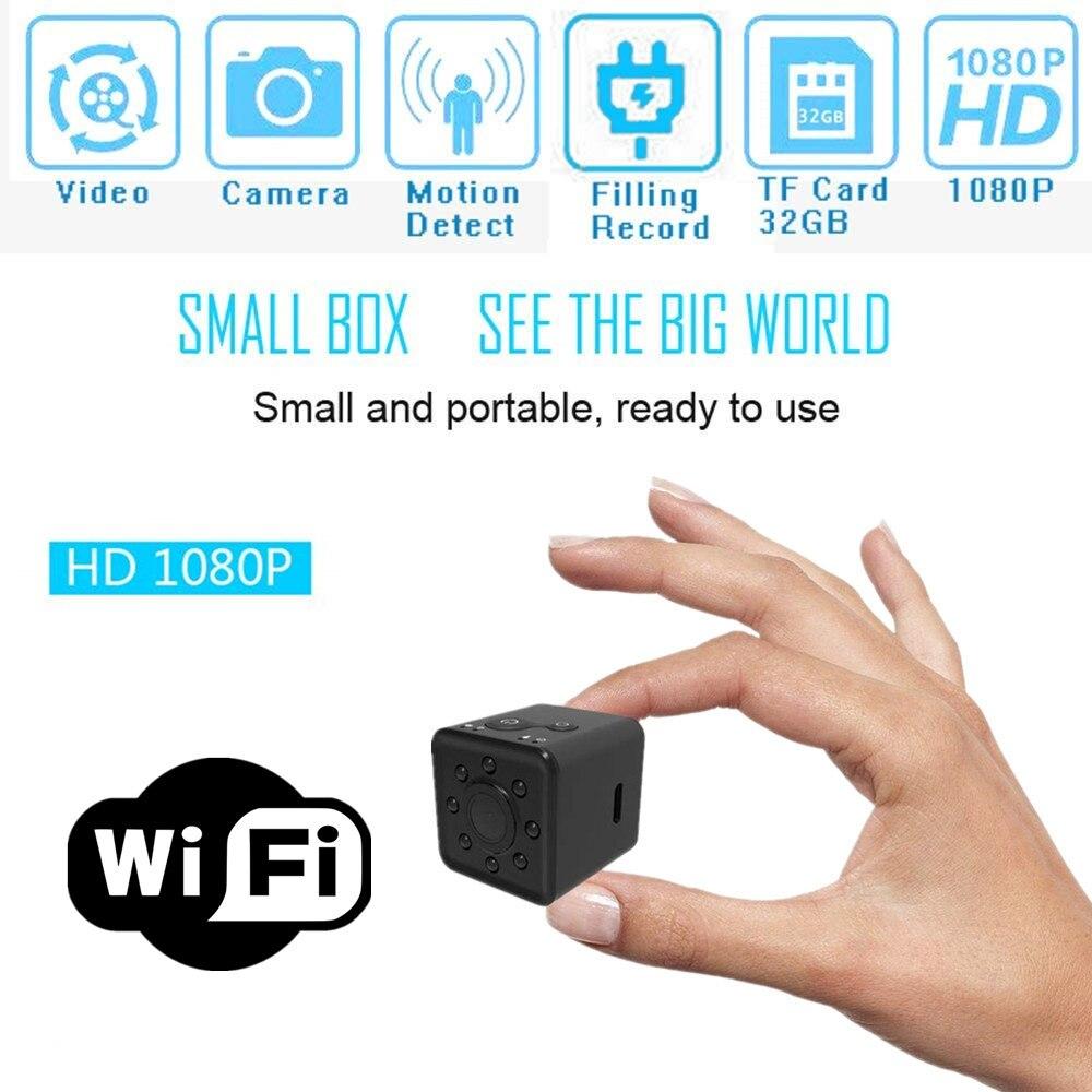 SQ13 HD mini cámara WIFI cámara pequeña cámara 1080 p gran angular impermeable MINI videocámara DVR deporte micro videocámaras SQ 13
