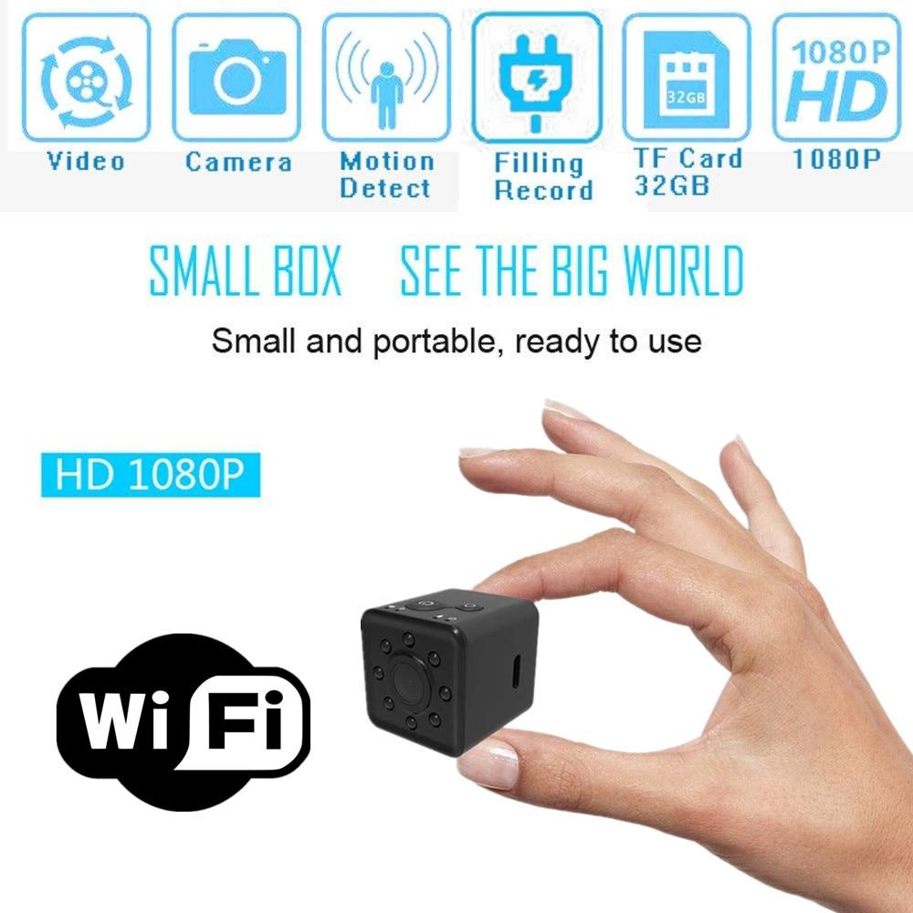 SQ13 HD mini caméra WIFI petite caméra cam 1080 p Grand Angle Étanche MINI Caméscope DVR vidéo Sport micro Caméscopes SQ 13