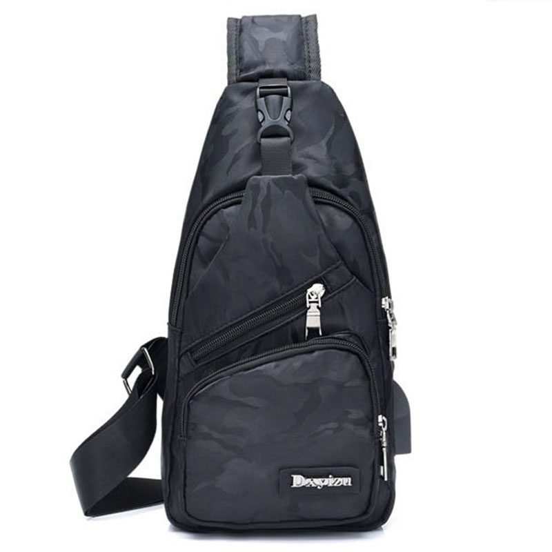 New Sling Backpack Bag Man Chest Pack Men Sling Strap Bags Casual Travel Fanny Flap Male Small Retro One Shoulder Crossbody Bag men breast bags casual small crossbody backpack korean camouflage sling bag back pack travel one shoulder strap backpacks bolsas