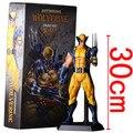 """New 12 """" 30 cm PVC Action Figure super-heróis boneca de X-MEN brinquedos loucos filme Xmen The Wolverine coleção Toy presente para as crianças"""