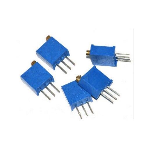 Lote 3296 w 1 m 3296w-105 Trimmer Potenciômetro Frete Grátis 100 Pçs – 3296w-1-105lf
