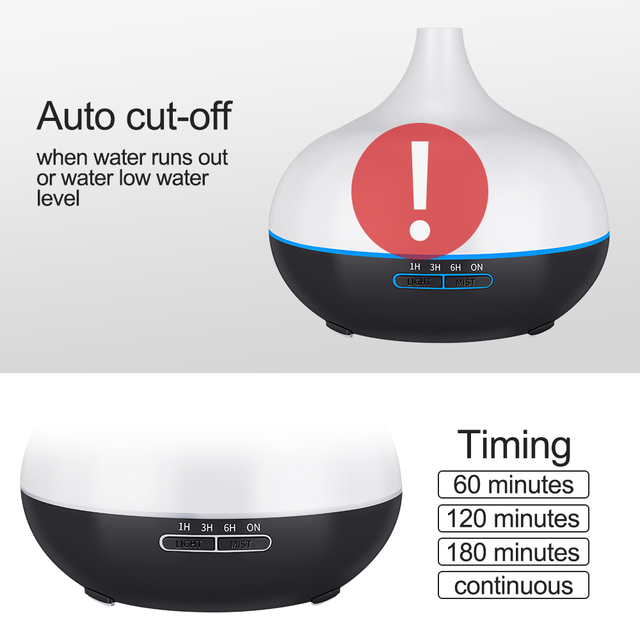 Remote Control Ultrasonic Air Humidifier for Essential Oil 3