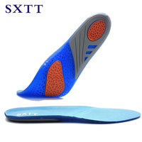 SXTT Gel Insoles Breathable Comfortable Silicone Inserts Deodorant shock absorption shoe Insoles Foot Pain Relieve Cushions
