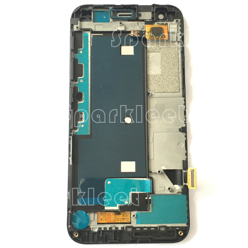 Black LCD Screen with Frame For ZTE blade s6 flex LCD Display Touch Screen Digitizer Assembly