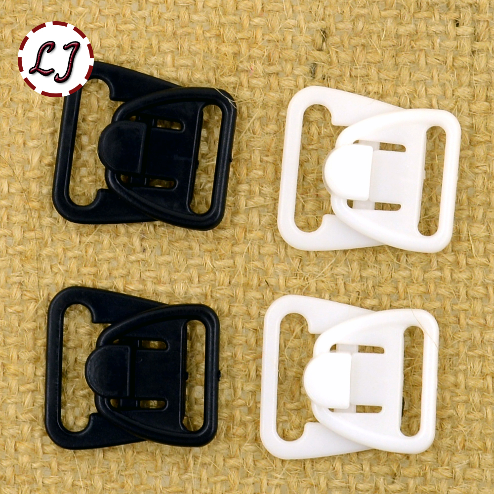 Rapture 10set/lot Black White Crafts Rectangle Tape Closure Hook & Clasp Waist Extenders Sewing On Clothes Bra Clip Hooks Accessories Apparel Sewing & Fabric Home & Garden