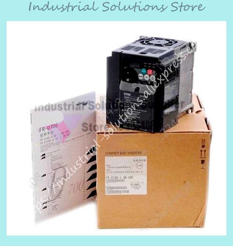 Input 3 ph 380V Output 3 ph Inverter FR-D740-3.7K-CHT Simple Type 380~480V 8.0A 3.7KW 0.2~400Hz NewInput 3 ph 380V Output 3 ph Inverter FR-D740-3.7K-CHT Simple Type 380~480V 8.0A 3.7KW 0.2~400Hz New