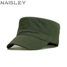 8edd6ca9f27 NAISLEY Brand Gorra New Vintage Men Hat Cotton Adjustable Military Hat  Female Hat Bone Snapback Tongue Caps Outdoor Cap Army Cap