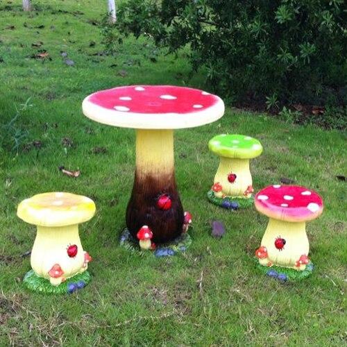 Magnesia simulation cartoon mushroom plant nursery decoration ...