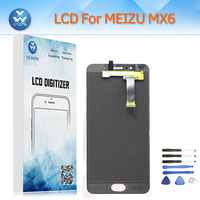 LCD Display Touch Screen Digitizer Assembly For Meizu MX6 MX 6 Replacement Pantalla Black White Mobile