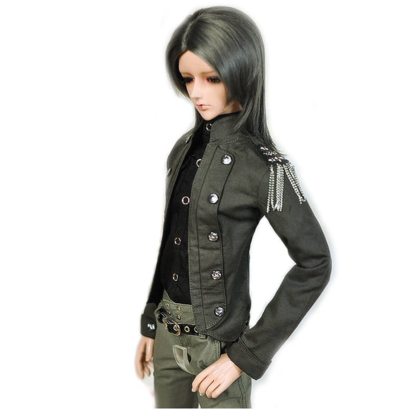 [wamami] 774# England Style Green Coat/Outfit/Clothes For 1/3 SD DZ DOD BJD [wamami] 649 england style coat suit outfit clothes for 1 3 sd dz dod boy bjd