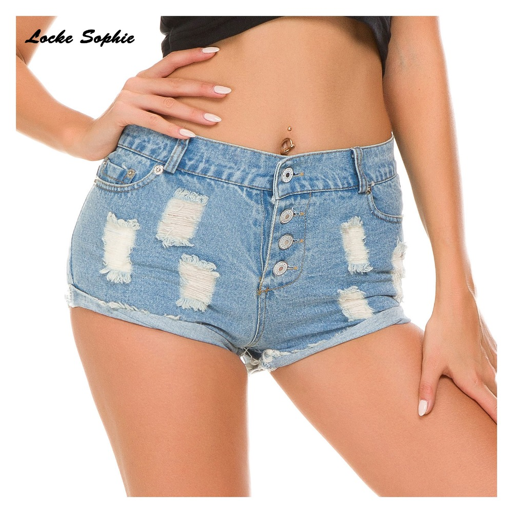 High waist Sexy Women 39 s jeans denim shorts 2019 Summer Fashion Denim broken hole shorts Ladies Skinny cotton super short jeans in Shorts from Women 39 s Clothing