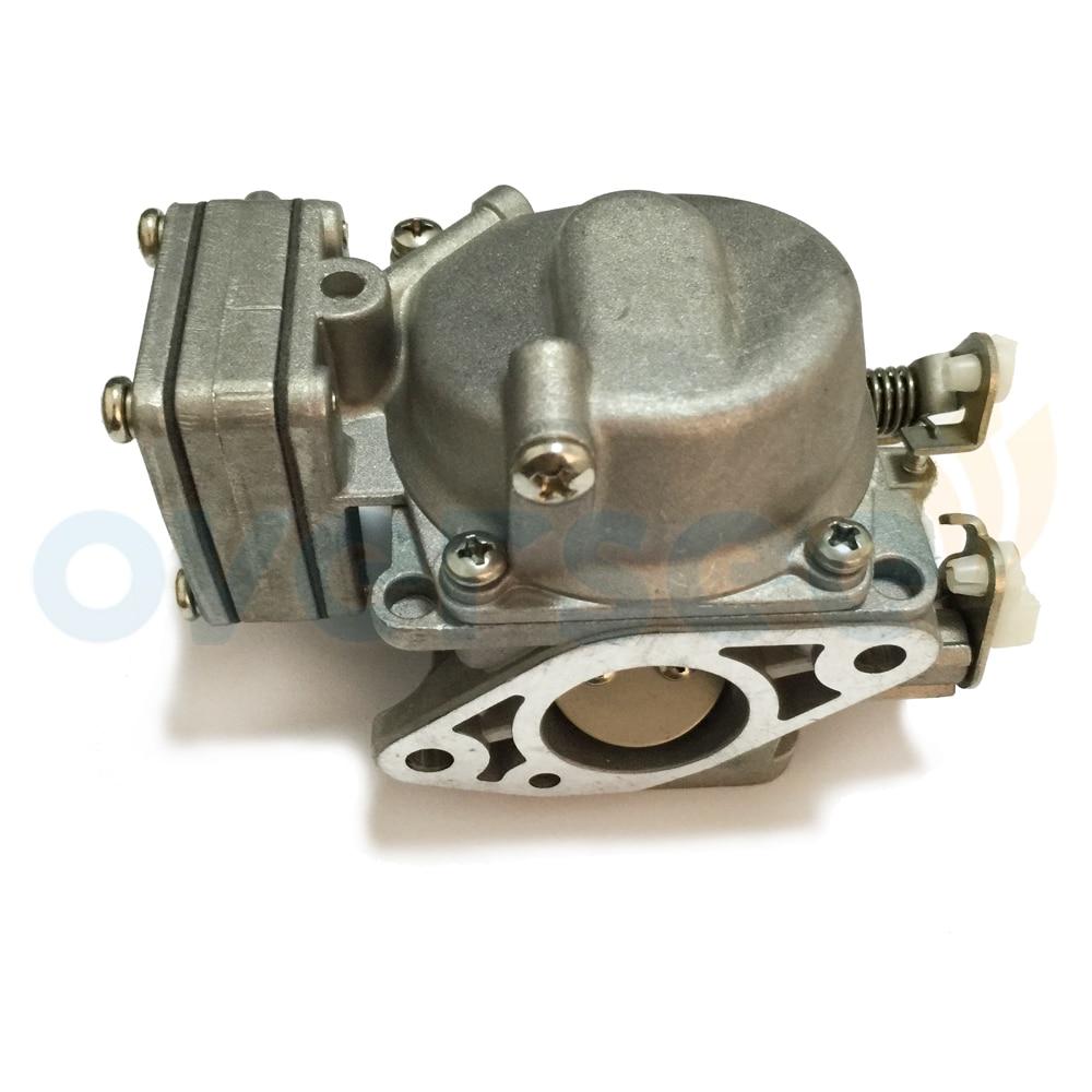 803687a carburetor for mercury 8hp 9 8hp seapro 2 cylinder outboard engine boat motor aftermarket parts [ 1000 x 1000 Pixel ]