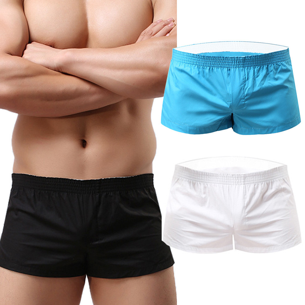 Womail Brand High Quality Swimsuit New Mens Loungewear Sports Shorts Beach Shorts Blue Short Pants