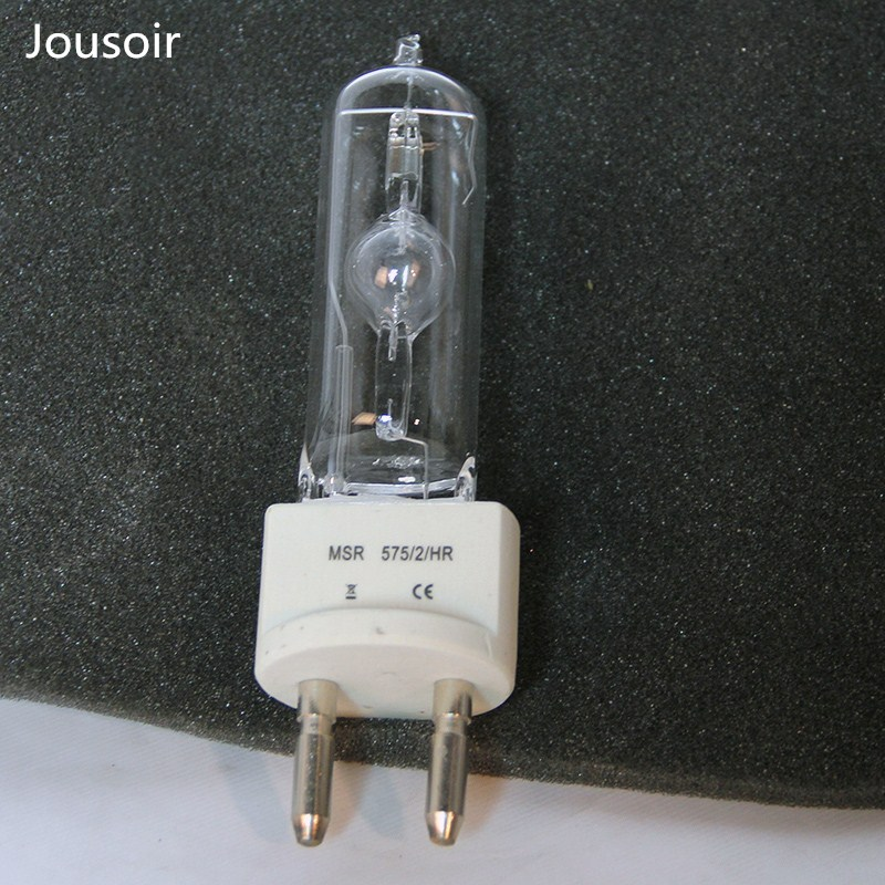 575W single end video dysprosium lamp bulb G22 halogen lamp / high color temperature cold white light television lamp dysprosium metal 99 9% 5 grams 0 176 oz